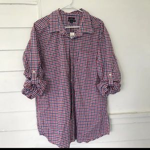 Gap classic fit men's XXL button front shirt new